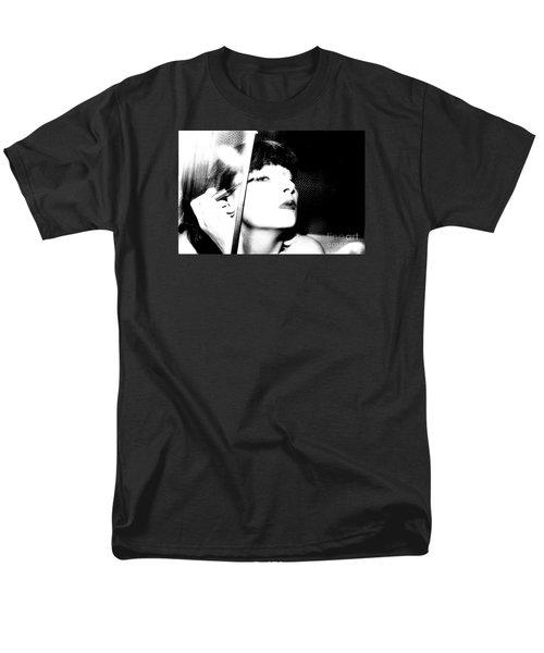 Men's T-Shirt  (Regular Fit) featuring the photograph Sweet Lips Of Love by Steven Macanka