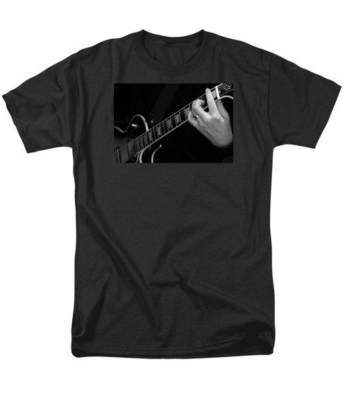 Sweet Sounds In Black And White Men's T-Shirt  (Regular Fit) by John Stuart Webbstock