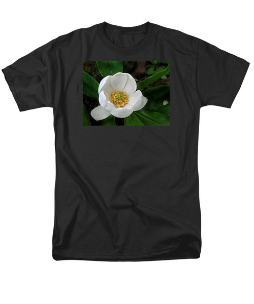 Men's T-Shirt  (Regular Fit) featuring the photograph Sweetbay Magnolia by William Tanneberger