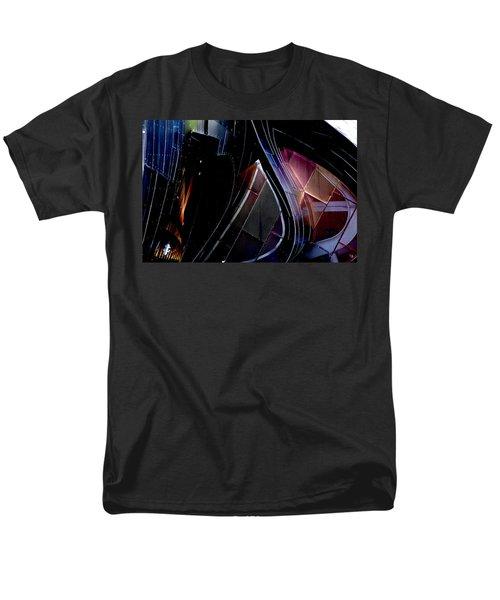Swirling Shingles Men's T-Shirt  (Regular Fit)