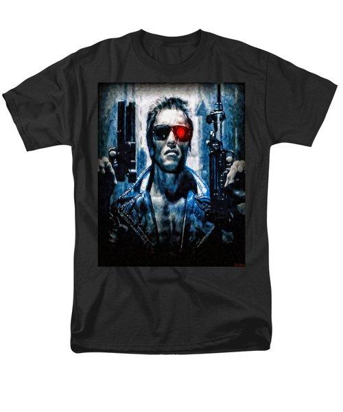 T800 Terminator Men's T-Shirt  (Regular Fit) by Joe Misrasi