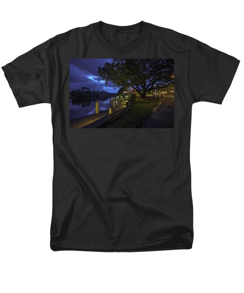 Men's T-Shirt  (Regular Fit) featuring the digital art Tacky Jacks Before The Storm by Michael Thomas