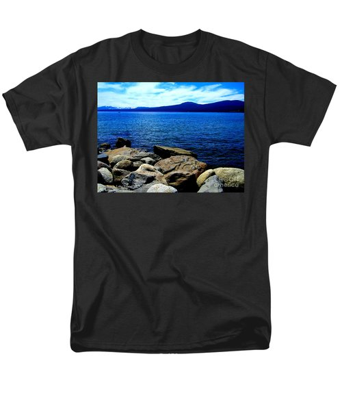 Men's T-Shirt  (Regular Fit) featuring the photograph Tahoe Magic by Bobbee Rickard