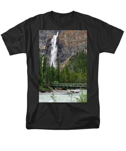 Takakkaw Falls Men's T-Shirt  (Regular Fit) by Lisa Phillips