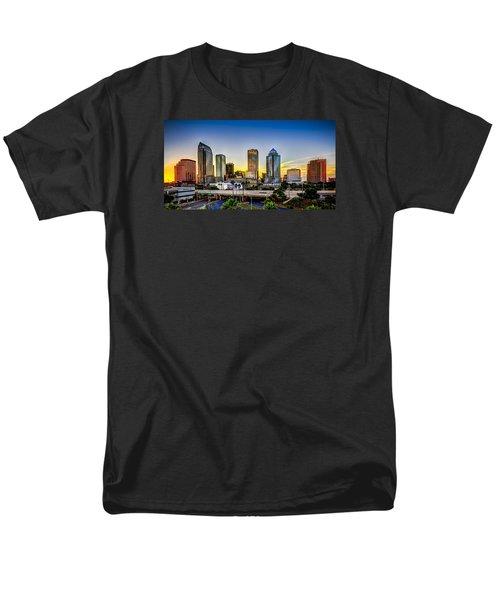 Tampa Skyline Men's T-Shirt  (Regular Fit) by Marvin Spates