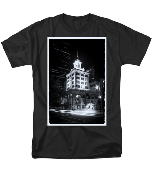 Tampa's Old City Hall Men's T-Shirt  (Regular Fit) by Marvin Spates