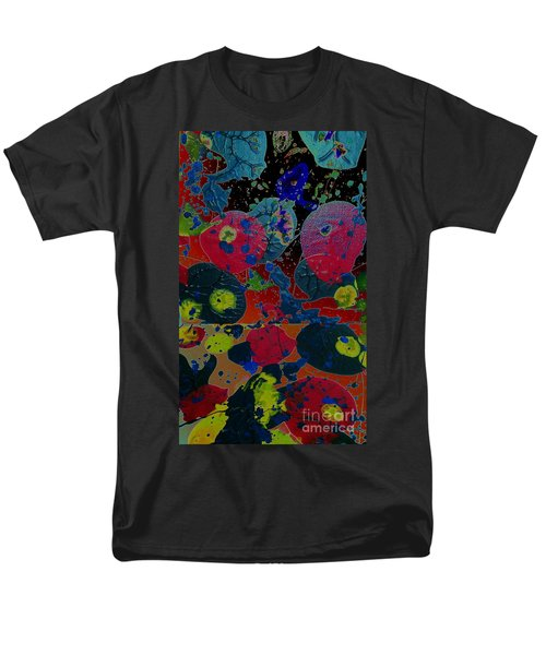 Men's T-Shirt  (Regular Fit) featuring the painting Tangent by Jacqueline McReynolds