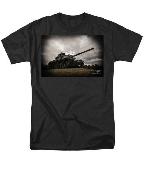 Tank World War 2 Men's T-Shirt  (Regular Fit) by Glenn Gordon