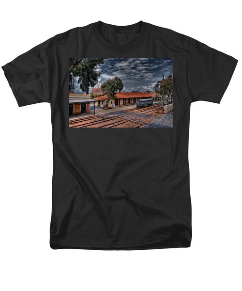 Men's T-Shirt  (Regular Fit) featuring the photograph Tel Aviv To Jerusalem by Ron Shoshani