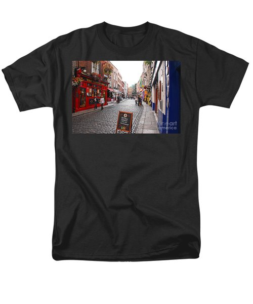 Men's T-Shirt  (Regular Fit) featuring the photograph Temple Bar by Mary Carol Story