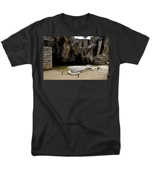 Temple Of The Condor Men's T-Shirt  (Regular Fit) by Kathy McClure