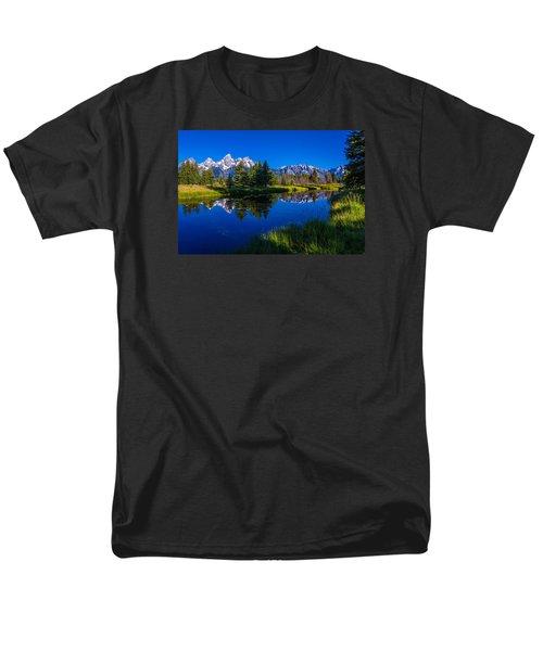 Teton Reflection Men's T-Shirt  (Regular Fit) by Chad Dutson