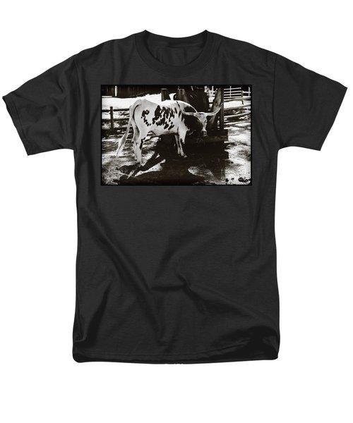 Texas Longhorn Men's T-Shirt  (Regular Fit) by Liane Wright