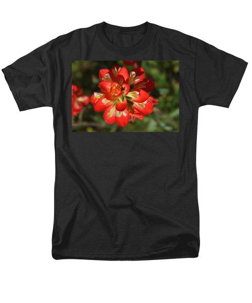Texas Paintbrush Men's T-Shirt  (Regular Fit) by Lynn Bauer