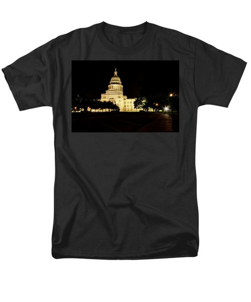 Texas State Capitol Men's T-Shirt  (Regular Fit) by Dave Files