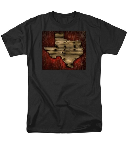 Texas Wood Men's T-Shirt  (Regular Fit) by Darryl Dalton