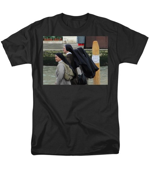 Men's T-Shirt  (Regular Fit) featuring the photograph Posted Directions by Natalie Ortiz