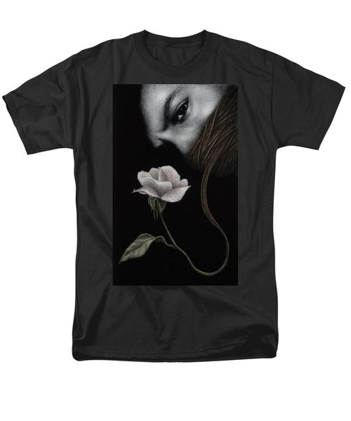 Men's T-Shirt  (Regular Fit) featuring the painting That Which Will Not Be Silenced by Pat Erickson