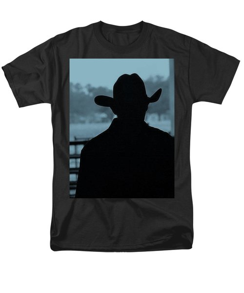 Men's T-Shirt  (Regular Fit) featuring the photograph The American Cowboy by John Glass