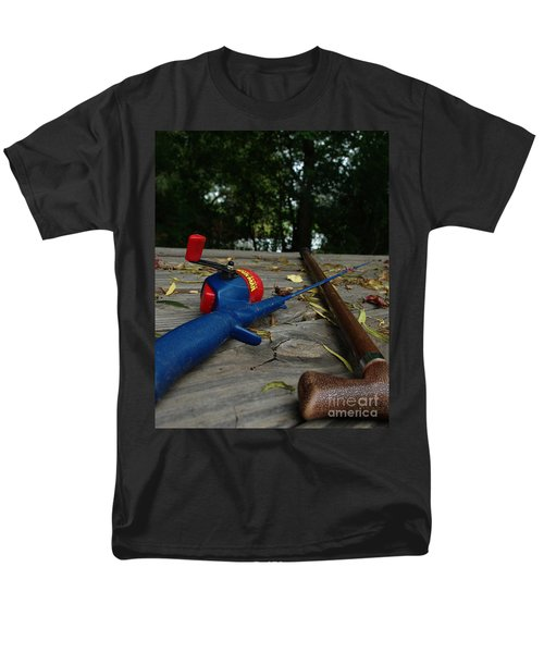 Men's T-Shirt  (Regular Fit) featuring the photograph The Anglers by Peter Piatt