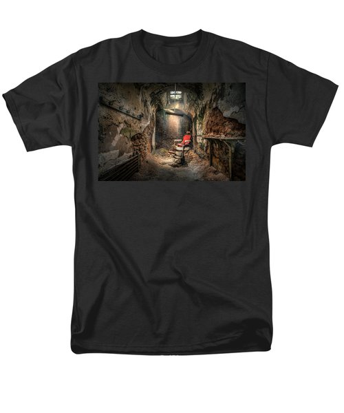 The Barber's Chair -the Demon Barber Men's T-Shirt  (Regular Fit) by Gary Heller