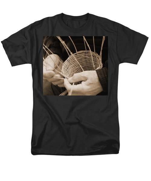 The Basket Weaver Men's T-Shirt  (Regular Fit) by Marcia Socolik