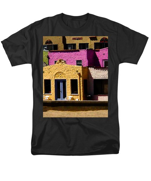 Men's T-Shirt  (Regular Fit) featuring the photograph The Beach House by Jim Thompson