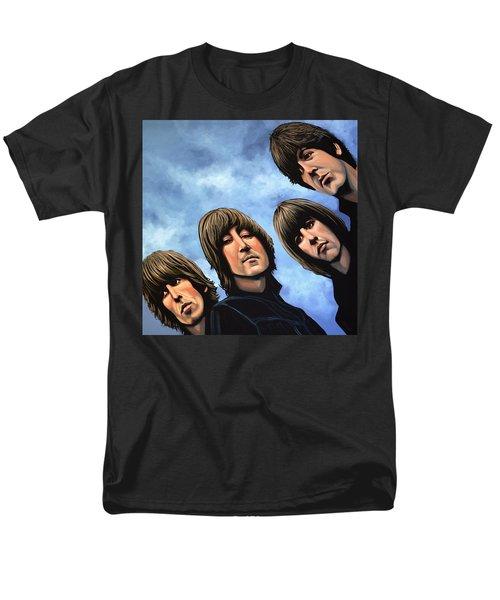 The Beatles Rubber Soul Men's T-Shirt  (Regular Fit) by Paul Meijering