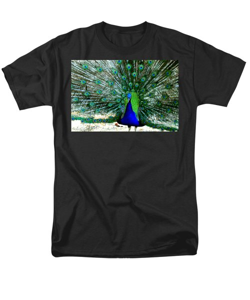 Men's T-Shirt  (Regular Fit) featuring the photograph The Beautiful Plumage by Kathy  White