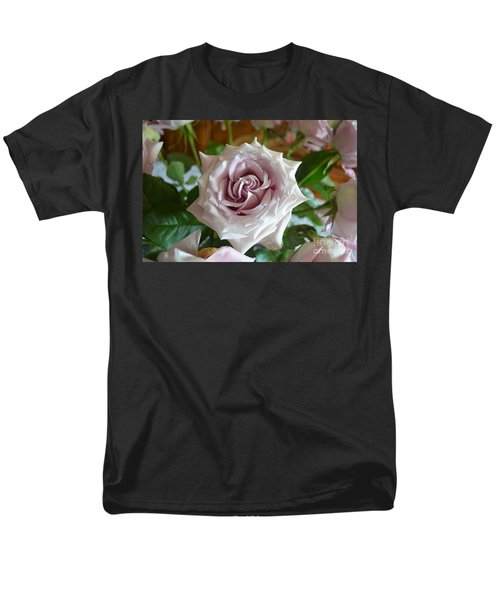 Men's T-Shirt  (Regular Fit) featuring the photograph The Beauty Of A Flower by Jim Fitzpatrick