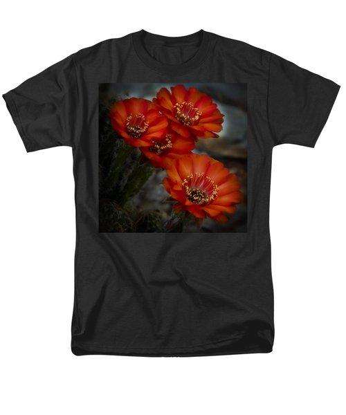 The Beauty Of Red Men's T-Shirt  (Regular Fit) by Saija  Lehtonen