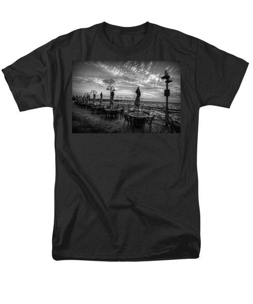 The Boardwalk Men's T-Shirt  (Regular Fit) by Linda Unger