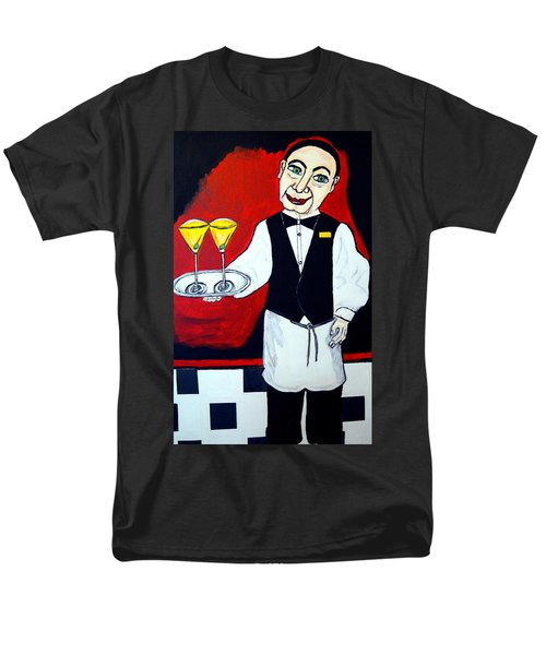 Men's T-Shirt  (Regular Fit) featuring the painting The Butler  by Nora Shepley
