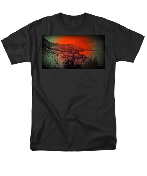The Cabot Trail Men's T-Shirt  (Regular Fit) by Jason Lees
