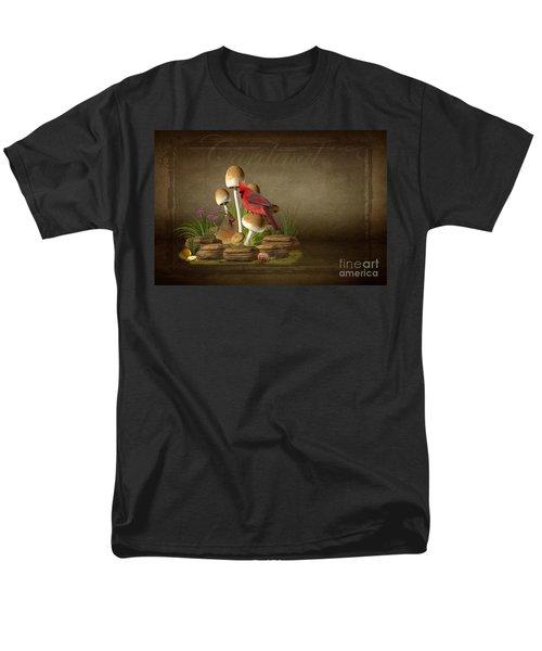 The Cardinal Men's T-Shirt  (Regular Fit) by Davandra Cribbie