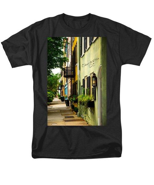 The Charm Of Charleston Men's T-Shirt  (Regular Fit)