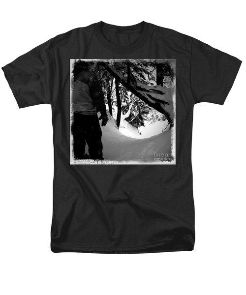 Men's T-Shirt  (Regular Fit) featuring the photograph The Chute by James Aiken