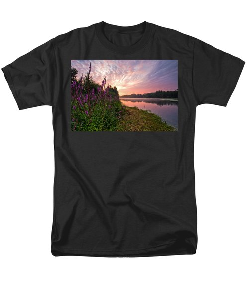 The Color Purple Men's T-Shirt  (Regular Fit) by Davorin Mance