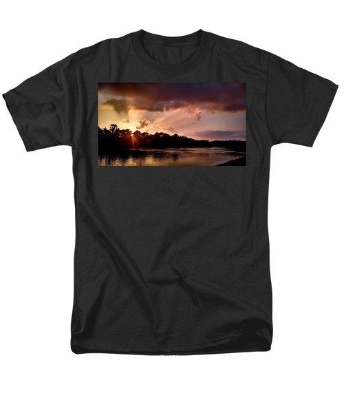 The Cumberland River Men's T-Shirt  (Regular Fit) by Chris Tarpening