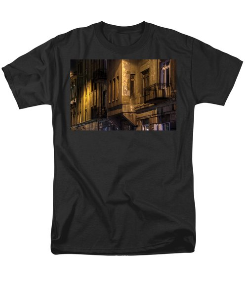 The Dark Side Men's T-Shirt  (Regular Fit) by Nathan Wright