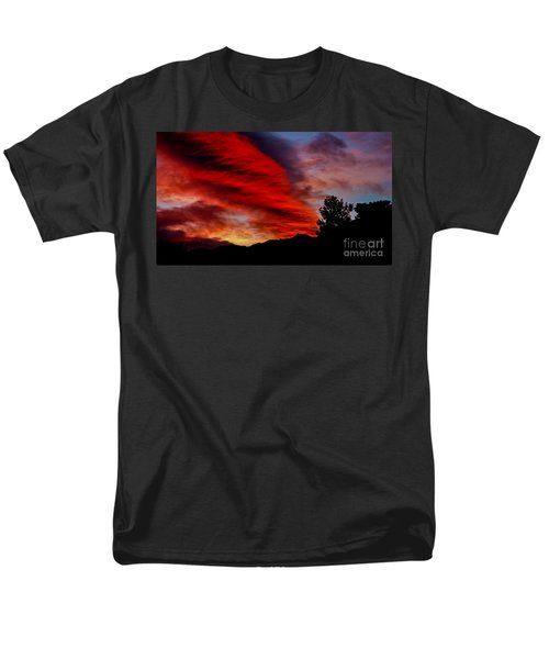 The Day Is Done Men's T-Shirt  (Regular Fit) by Angela J Wright