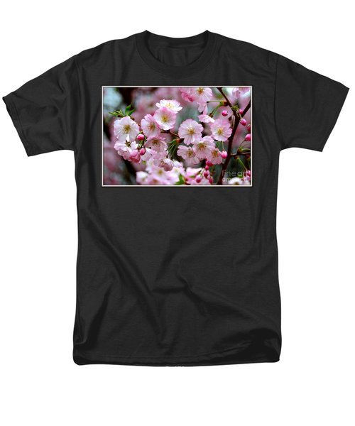 The Delicate Cherry Blossoms Men's T-Shirt  (Regular Fit) by Patti Whitten