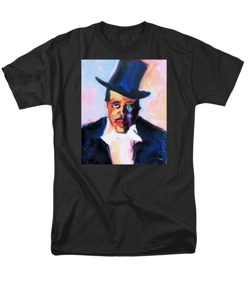 Men's T-Shirt  (Regular Fit) featuring the painting The Duke by Les Leffingwell