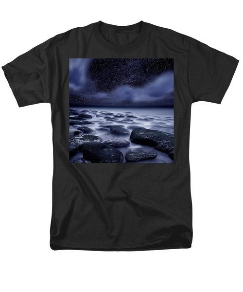 The Edge Of Forever Men's T-Shirt  (Regular Fit) by Jorge Maia