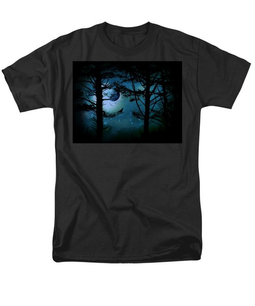 The Edge Of Twilight  Men's T-Shirt  (Regular Fit) by Micki Findlay