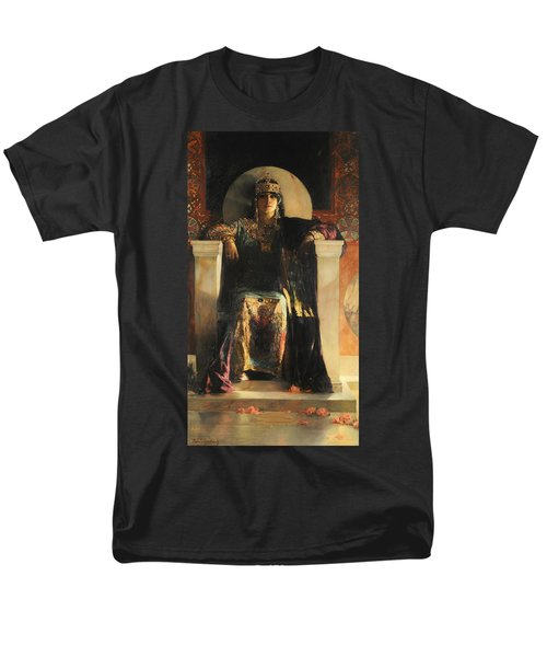 The Empress Theodora Men's T-Shirt  (Regular Fit) by Jean-Joseph Benjamin-Constant