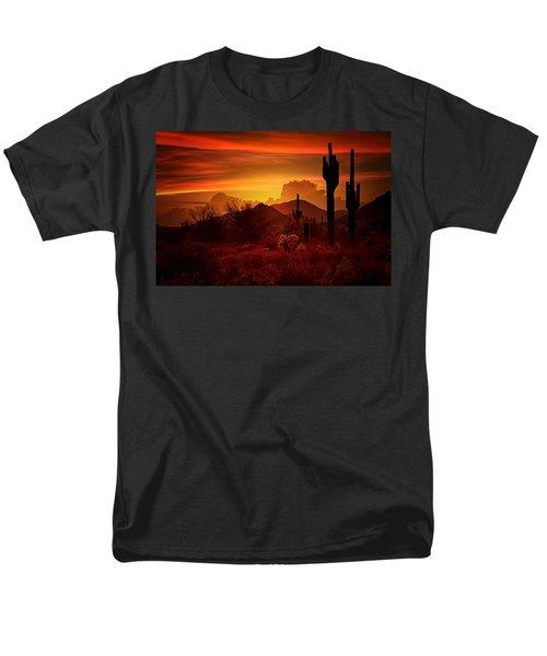 The Essence Of The Southwest Men's T-Shirt  (Regular Fit) by Saija  Lehtonen