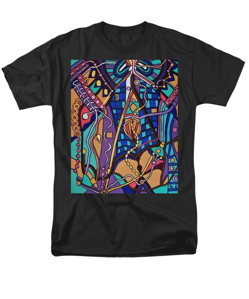 Men's T-Shirt  (Regular Fit) featuring the painting The Exam by Barbara St Jean