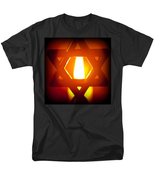 The Fire Within Men's T-Shirt  (Regular Fit) by Tikvah's Hope