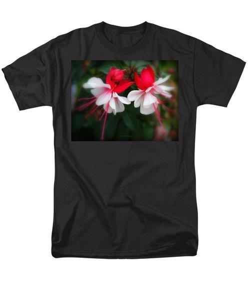 The Fuchsia Men's T-Shirt  (Regular Fit) by Jeanette C Landstrom